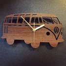 VW Bus Camper Clock