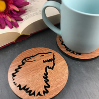 Individual House Stark Game of Thrones Coaster.