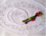 Hand Embroidery, Dressing Table, Chewal Set, Embroidery Pattern