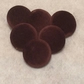 Large Brown Velvet, Fabric Covered Buttons - Choice of Pack Size