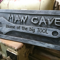 Funny Man Cave Sign