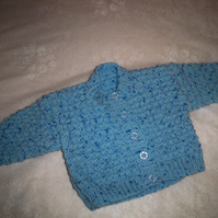 BABY TODDLER CARDI CARDIGAN to fit 6-9m