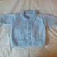 "Powder Blue Lumber Jacket Cardigan for boy Size 20"" 1-2 years"
