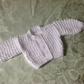 "Baby Hand Knitted Cardigan to fit 12"" 14"" 16"" 18"" 20"" 22"" 24"" Premature to 2-3yr"