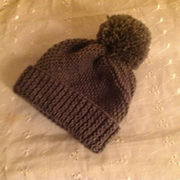 Baby Swirl Ski Cap With a Twist 3-6m