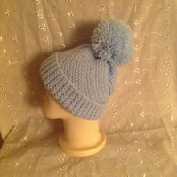 Baby Swirl Ski Cap With a Twist 0-3 m. Great Christmas Xmas Gift.