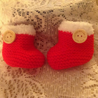 Booties Bootees Boots Shoes to fit Newborn