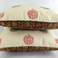 Reversible Outdoor Cushion, Bohemian Decor, Hostess Gift, Ethnic Accent Cushion