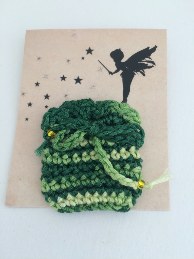 Tooth Fairy Bag Green