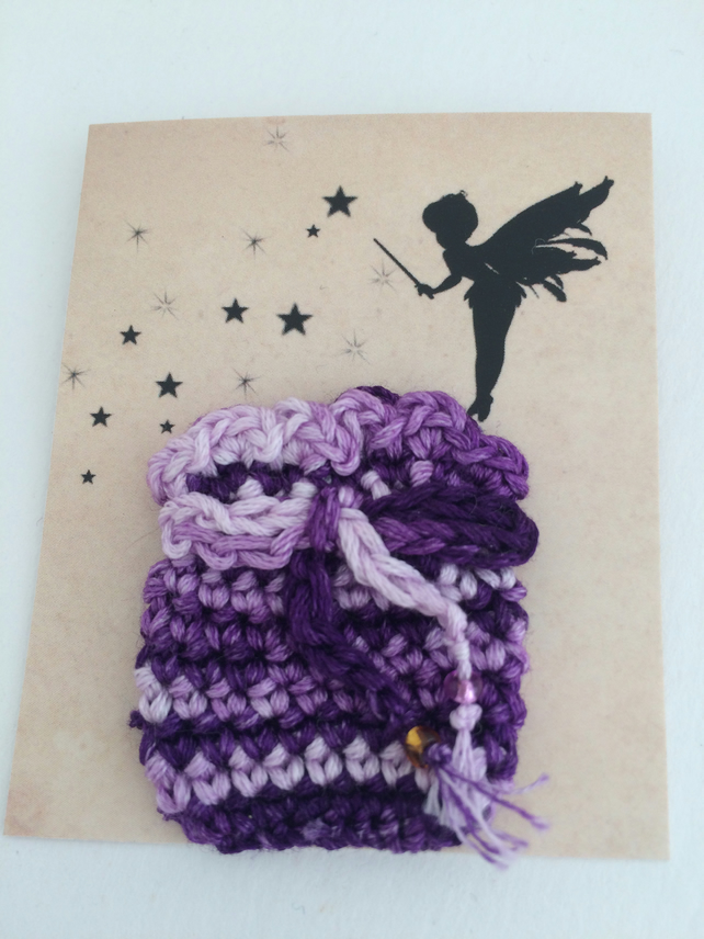 Tooth Fairy Bag Purple