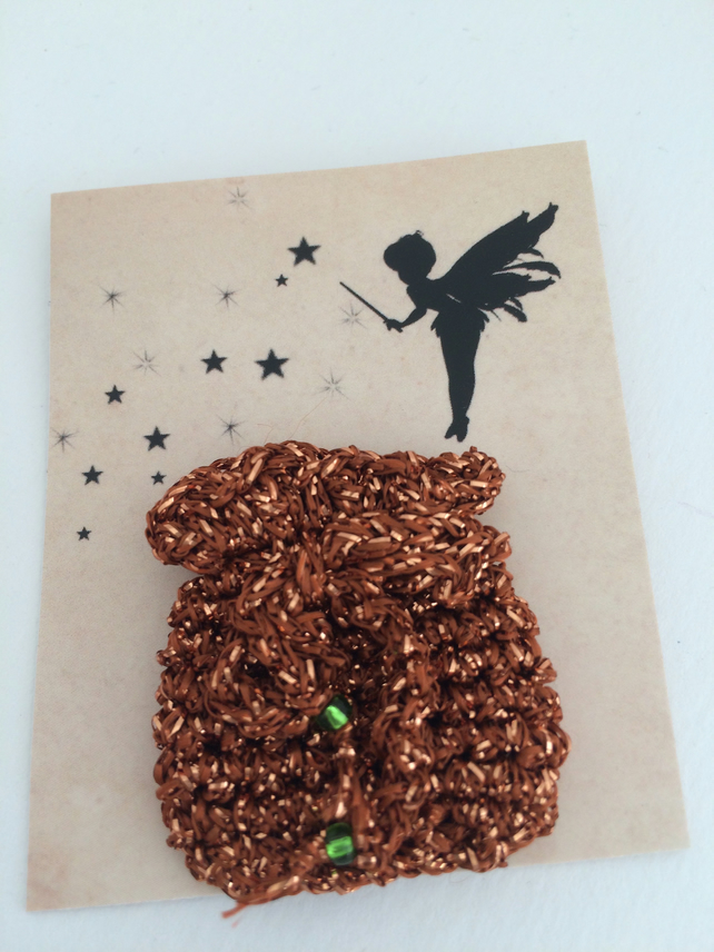Tooth Fairy Bag Copper