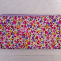 British Handmade Cath Kidston Large compartment Clutch Purse.