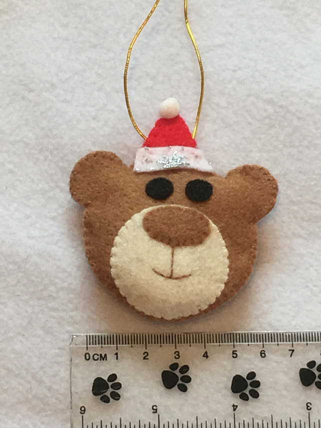 BEAR - Hanging Christmas Decoration