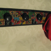 Superhero coat, hoodie or hat rack