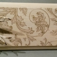 Two swallows swooping  - wall hanging Rack