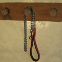 All knotted up - coat rack