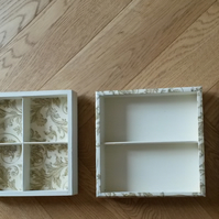 Vintage storage box - restored and re-purposed