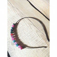 Tourmaline hairband