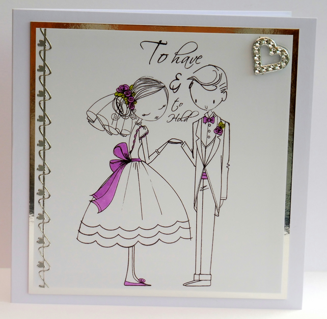 C2207 - To have & to hold - Wedding