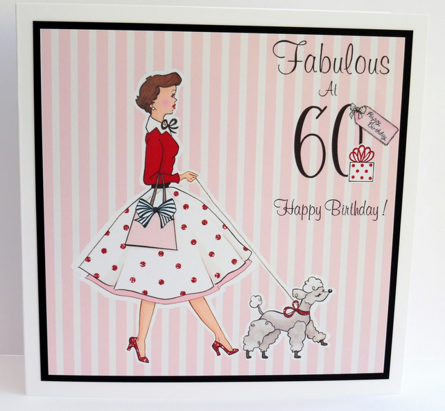 C2326 - Birthday -  Fabulous at 60