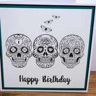 C3397 Happy Birthday Card