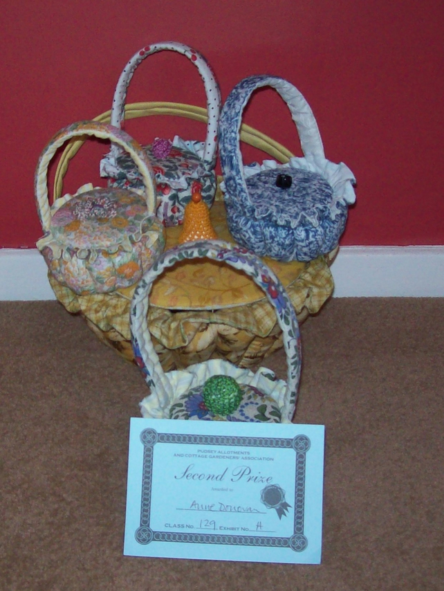 pretty little fabric basket