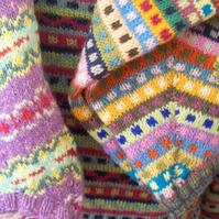 large fair isle jumpers traditional and modern
