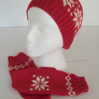 Nordic beanie hats for women