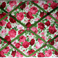 Floral Padded Noticeboard