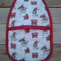 Cath Kidston cowboys, small hot water bottle cover