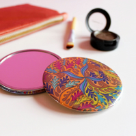 Fantasy Sealife Inspired Pocket Mirror