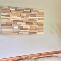 Porthminster. Wood wall art sculpture