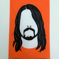 Dave Grohl - Foo Fighters Tea Towel
