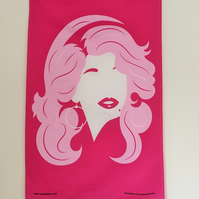 Dolly Parton Tea Towel