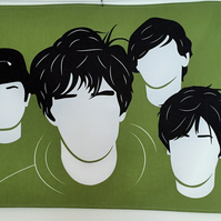 Stone Roses Tea Towel - Ian Brown