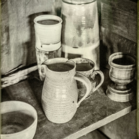 "Ancient Kitchenware 10"" x 8"" Print"