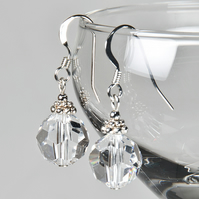 Crystal bridal earrings, Swarovski® Crystal wedding earrings, Prom jewellery