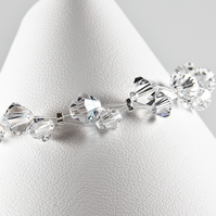 Swarvoski® Crystal bracelet, Wedding bracelet, Bridal jewellery, Prom wear