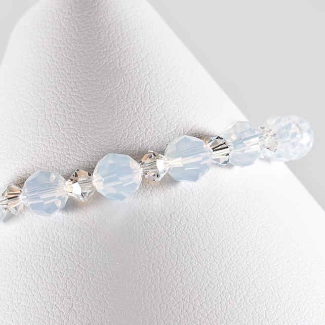 SALE! Crystal bracelet, Swarovski® bridal bracelet, Wedding or Prom jewellery