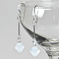 Crystal earrings, Swarovski® bridal earrings, Wedding or Prom jewellery
