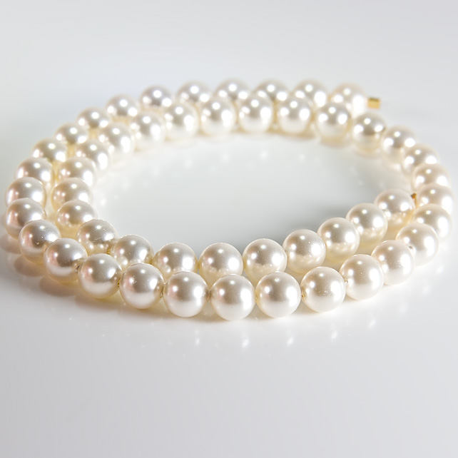 x50 6mm Swarovski® Pearls, Light Creamrose, jewellery supplies, bridal