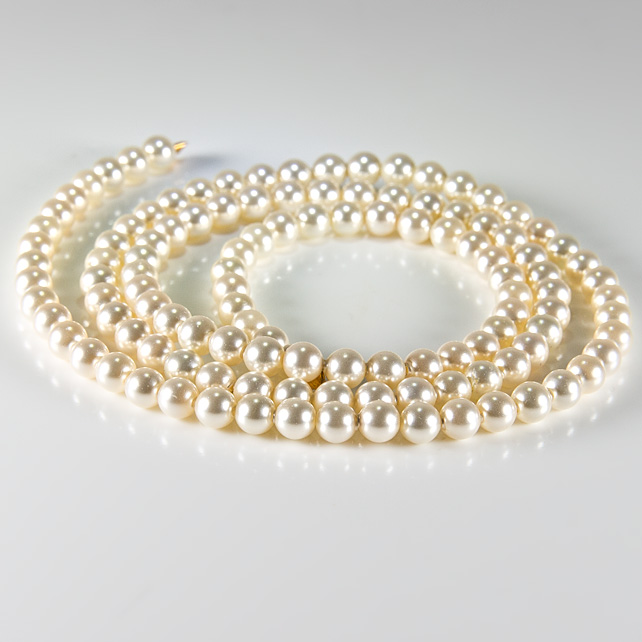 x120 4mm Swarovski® Pearls, Light Creamrose, jewellery supplies, bridal