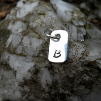Mini Personalised Initial Pendant