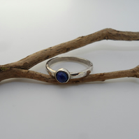 Sterling Silver Handmade Ring With A Choice Of Gemstone