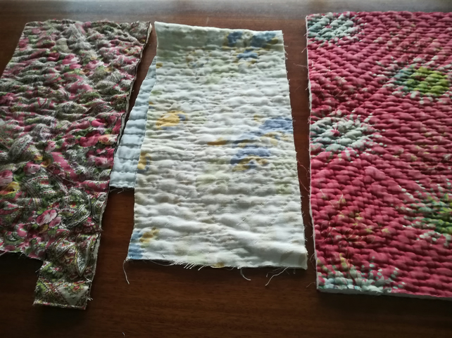 Vintage Welsh Quilt remnants