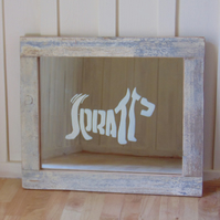 Handcrafted SPRATTS Scottie Dog Mirror