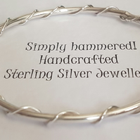 Twisted Wire Bangle