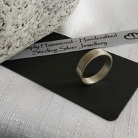 Plain Chunky Wedding Ring