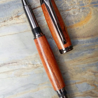 Unusual Umgusi African Wood Junior Gent Rollerball Pen