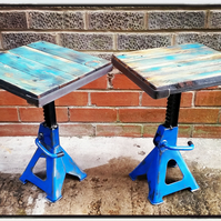 Industrial axle stand tables